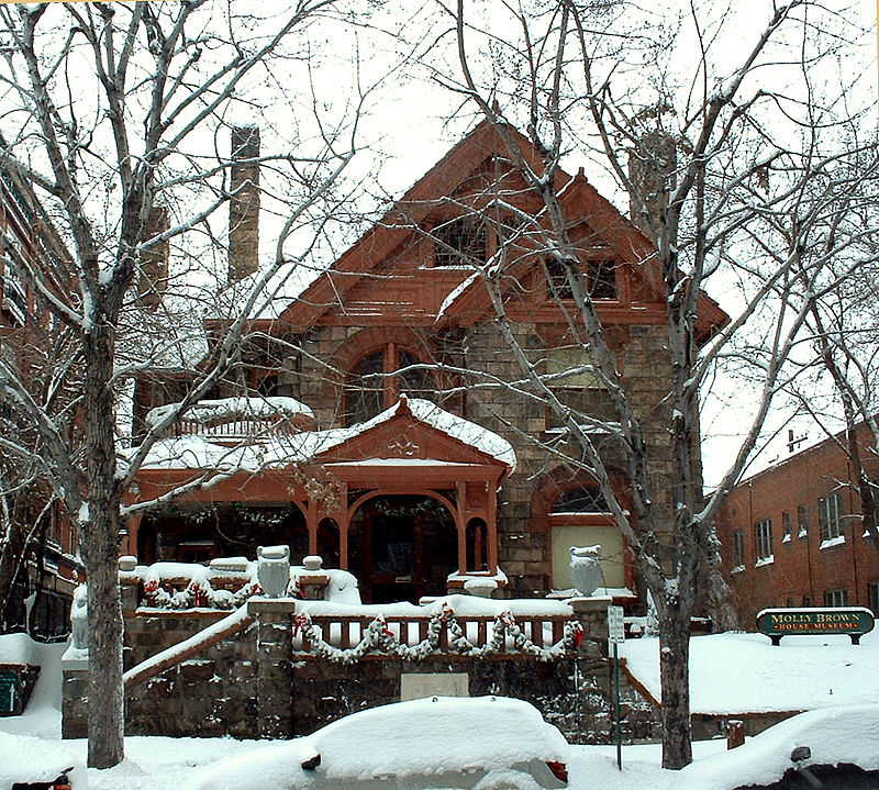 Haunted Molly Brown House