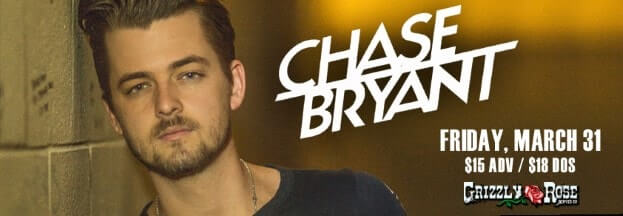 Chase Bryant Grizzly Rose