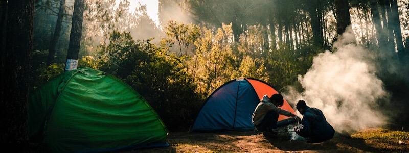 Autumn Camping in Colorado