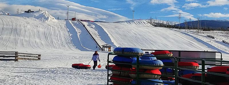 Snow Tubing Near Denver