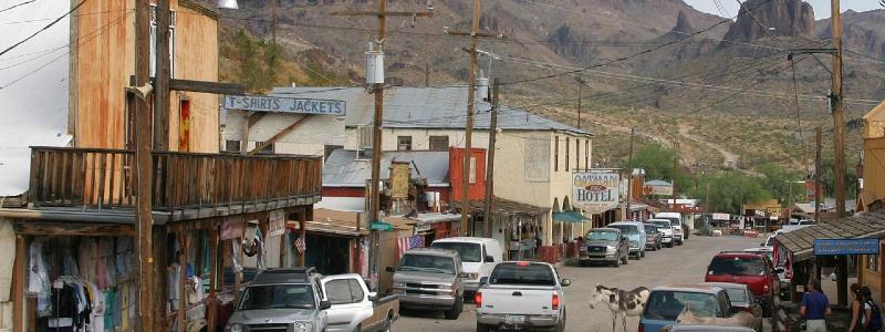 wild western towns in america